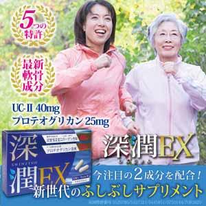 コンドロイチン・グルコサミンを超える特許成分サプリ【深潤EX】 プログラム