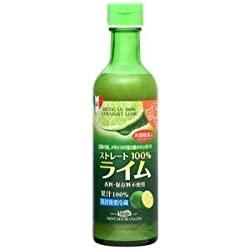 メキシコ産ライム果汁290ml ストレート100%果汁 香料・保存料不使用の反逆