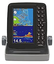 フィッシングに必須!HONDEX(ホンデックス) 魚群探知機 ポータブルGPSプロッター魚探 PS-611CN